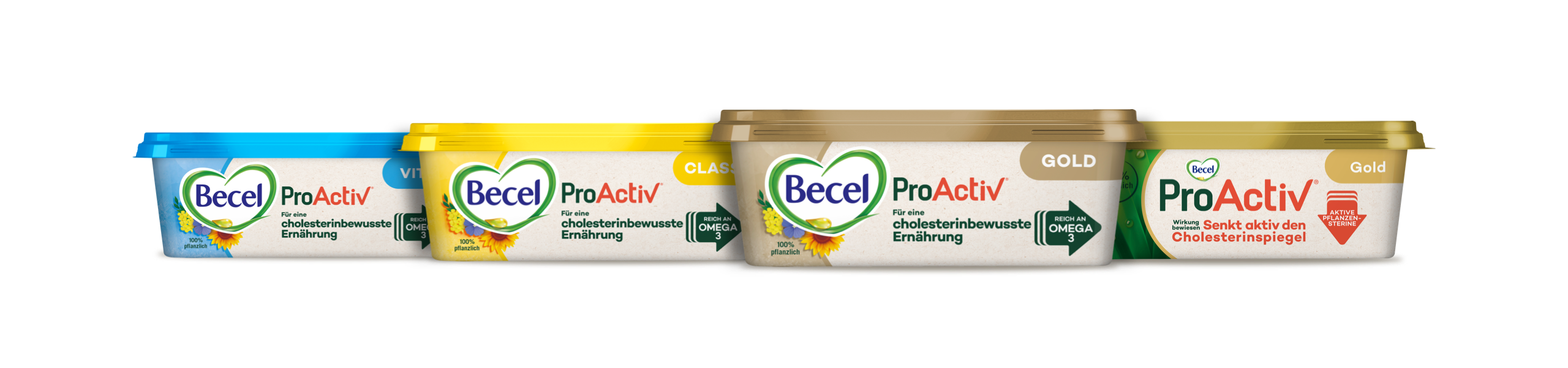 Becel ProActiv products