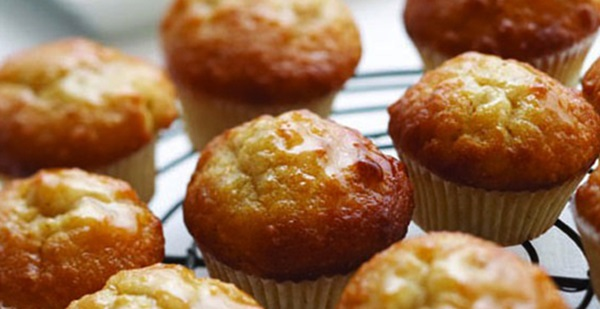 recipe image Lemon Syrup Muffins