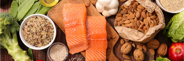 Foods with unsaturated fats