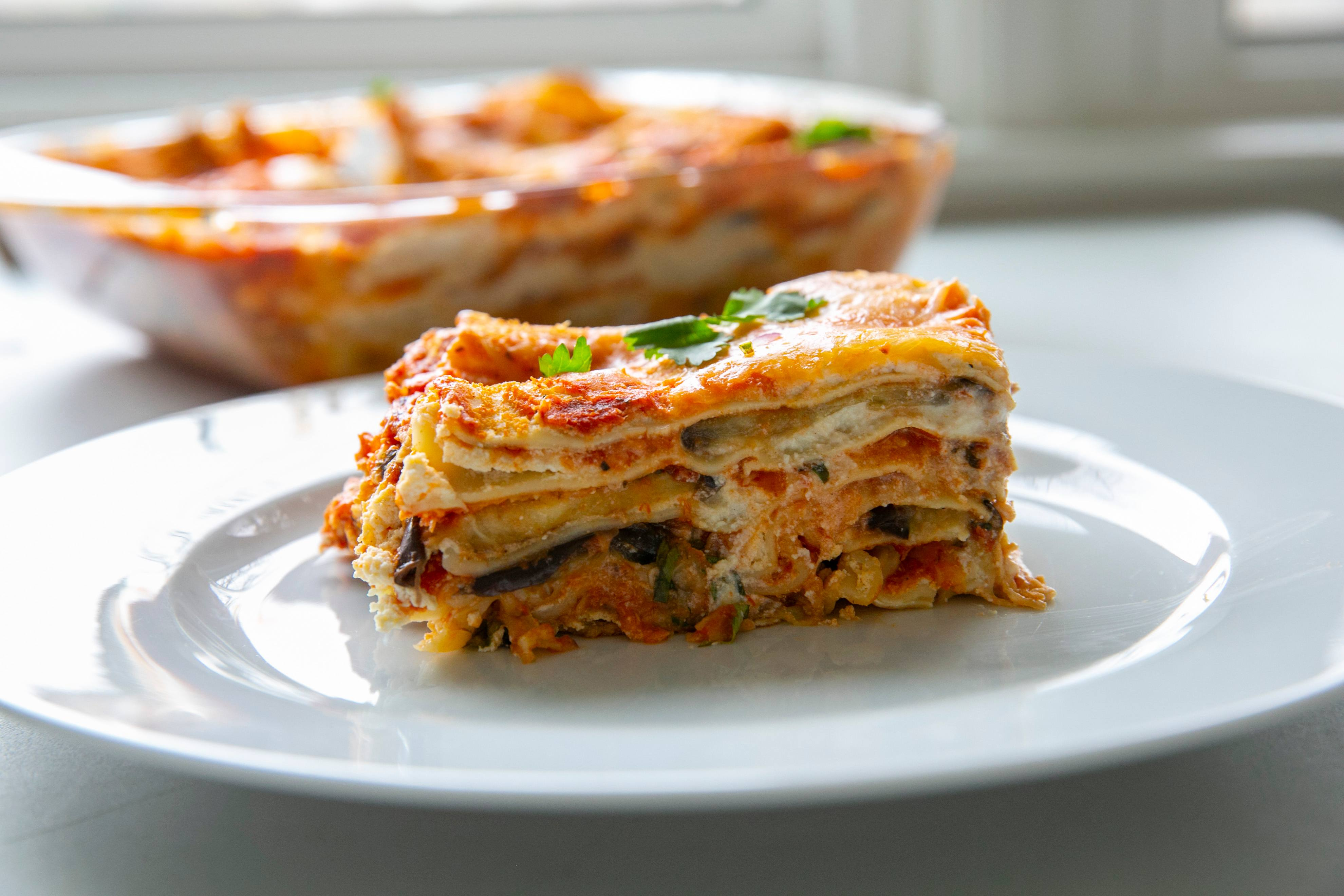 recipe image Winter vegetable lasagne