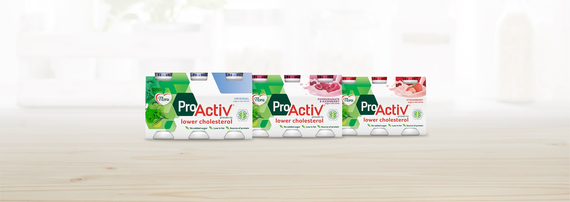Flora proactiv drinks