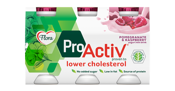Flora ProActiv Mini Drink Pomegranate-Raspberry