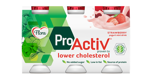 Flora ProActiv Mini Drink Strawberry
