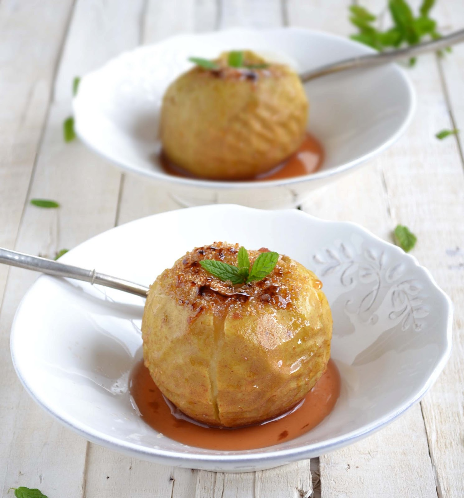 recipe image Baked Apple with Ginger and Orange